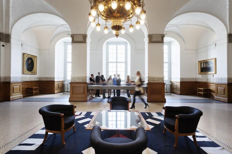 Vandrehallen på Christiansborg