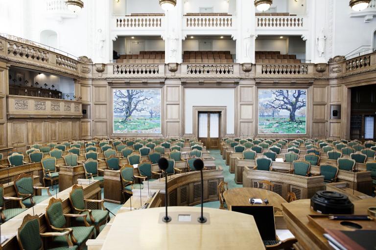 Christiansborg folketinget folkestyret