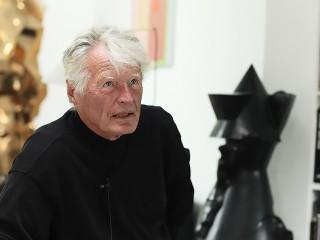 Hein Heinsens fortæller om arbejdet med hans store skulptur: Ansgar