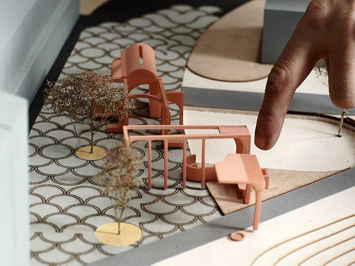 skulptur og arkitektur