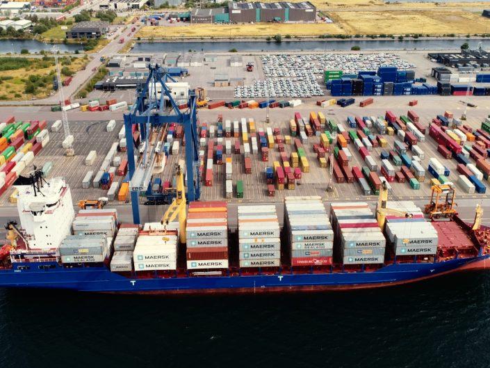 Containerhaven drone